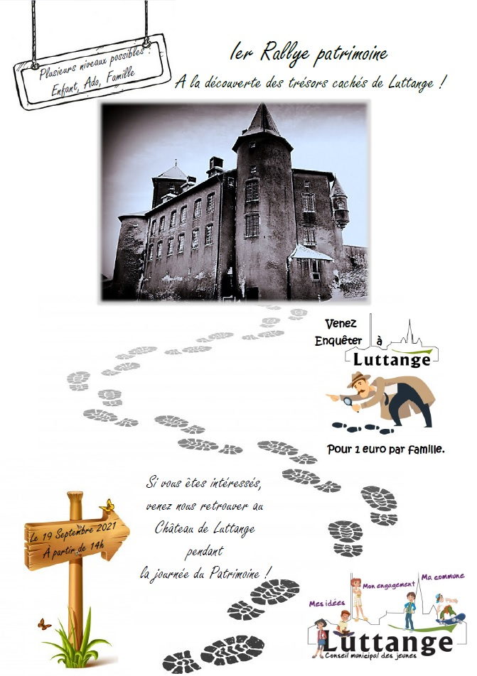 Flyer Ier Rallye patrimoine